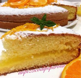 Torta all'arancia di Sicilia