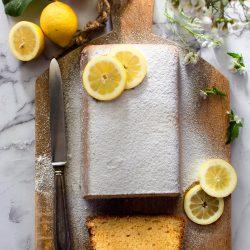 Plumcake panna e limone