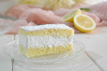 Tortine soffici al limone e panna