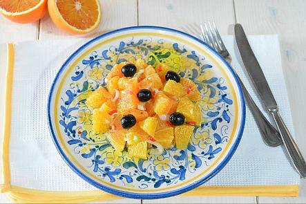 Insalata di arance ricetta siciliana