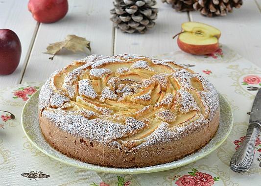 Torta alle mele senza glutine