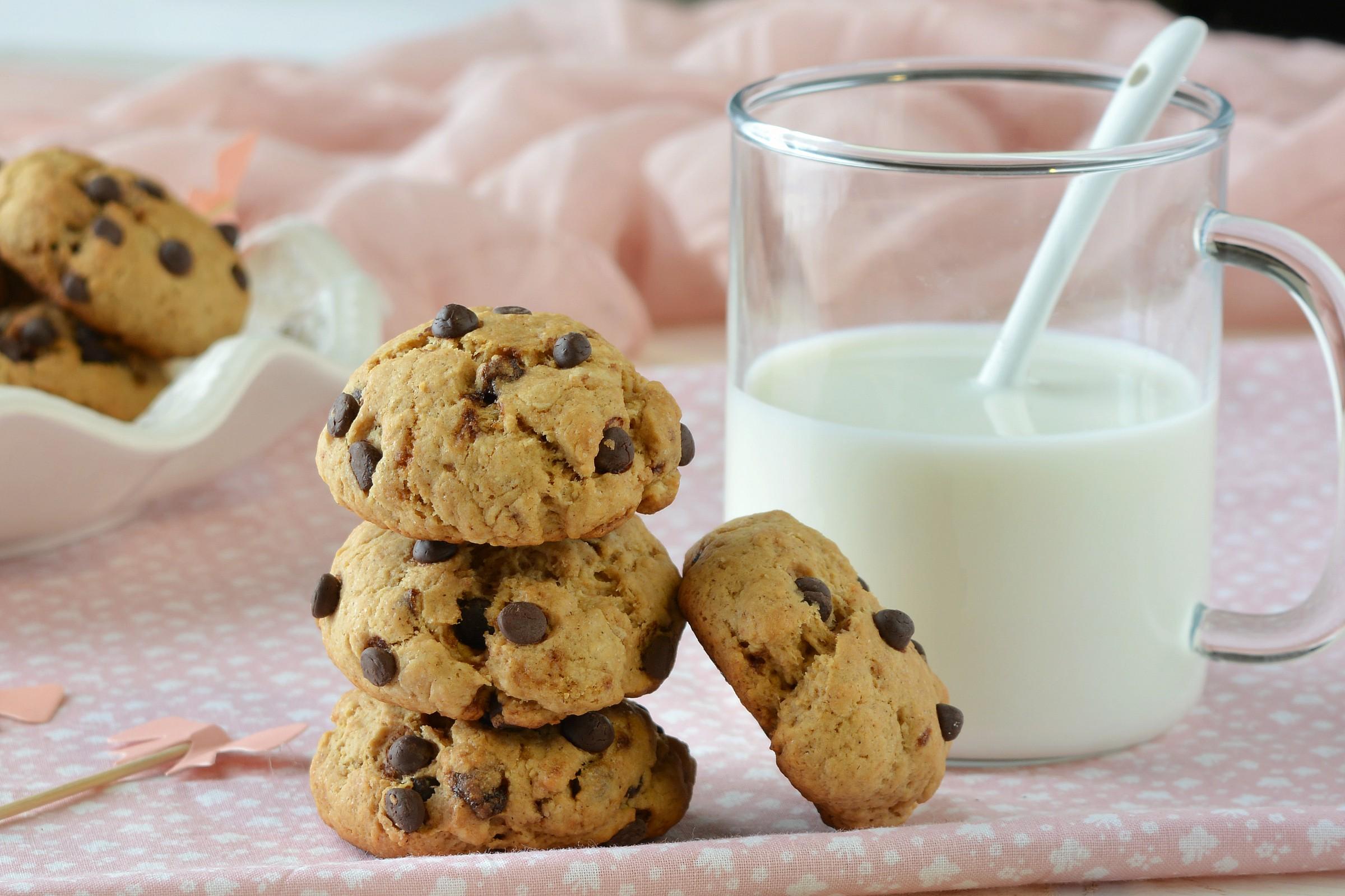 Cookies senza uova e burro