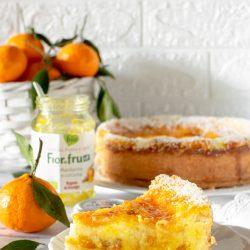 Crostata cuor di cocco al mandarino e curcuma